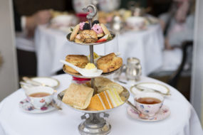 Afternoon tea in Scotland