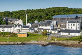 Distillerie de whisky sur Jura