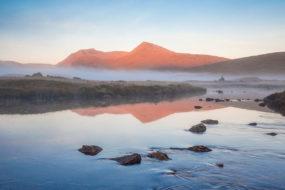 Lochan Na H Achlaise On Rannoch Moor