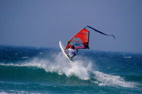 Der Tiree Wave Classic Windsurfing-Wettbewerb