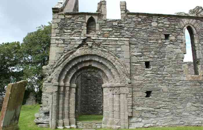 Whithorn Priory Door