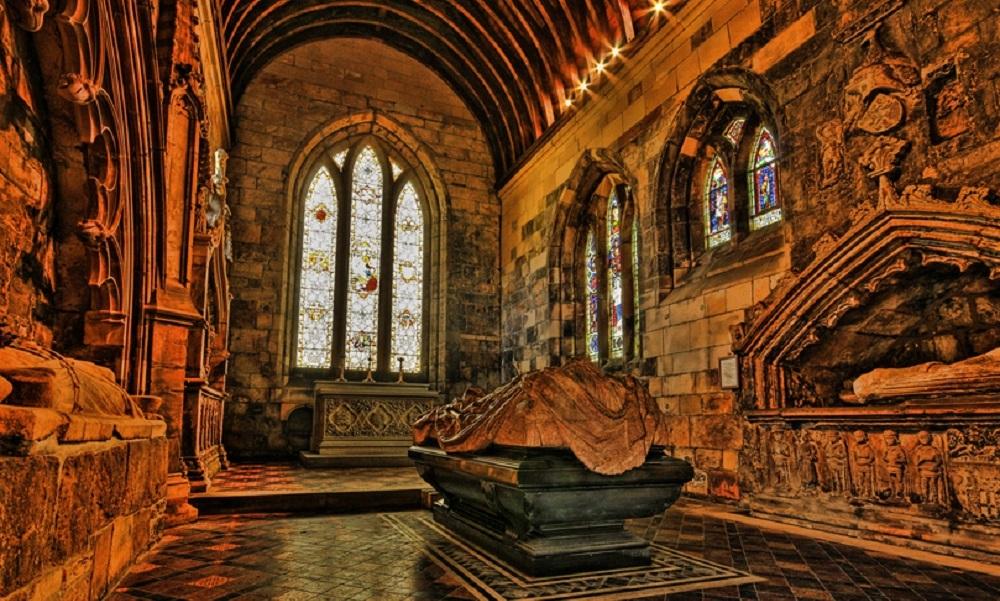 Old St Brides Interior