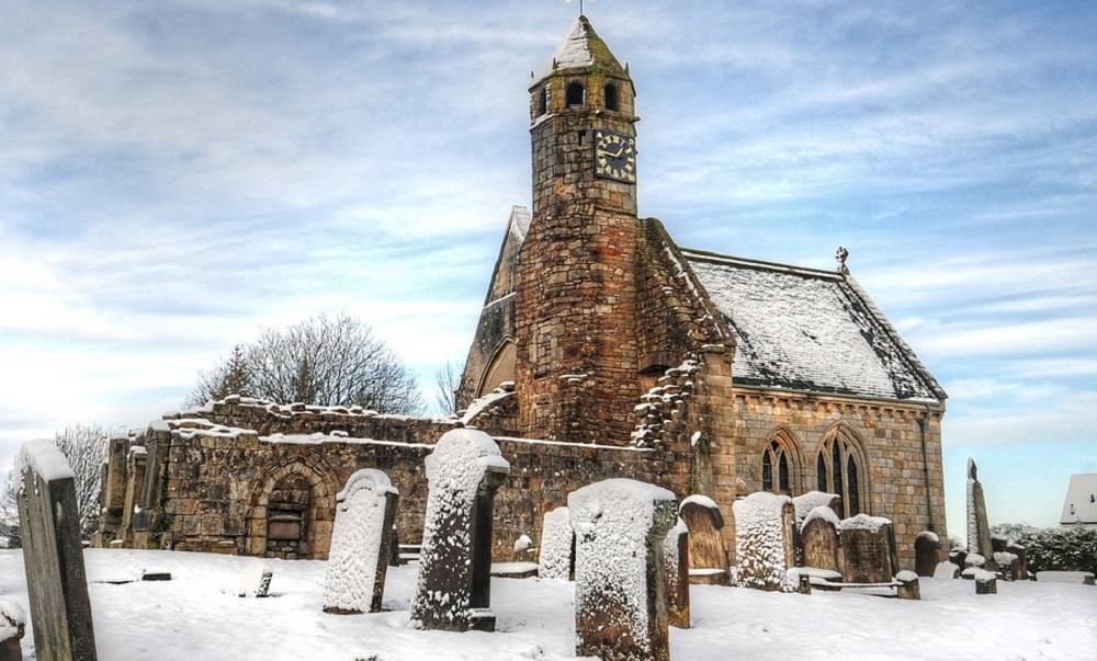 Old St Brides Snow